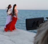 Репортаж с Кипра - съемки на вулкане.