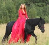 Лошадка для Богемы - подготовка к съемкам.